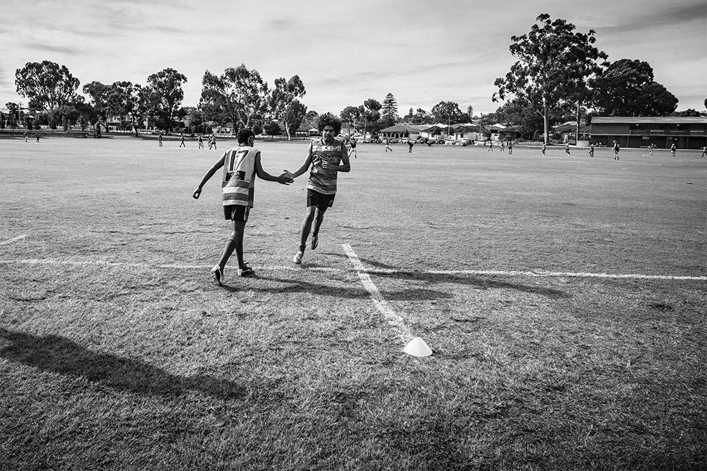 Noongar-PlayingFooty-KonradMarshall